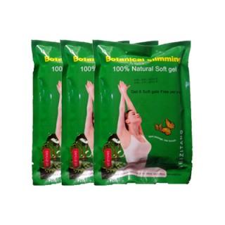 3 Packs Meizitang Botanical Slimming Soft Gel